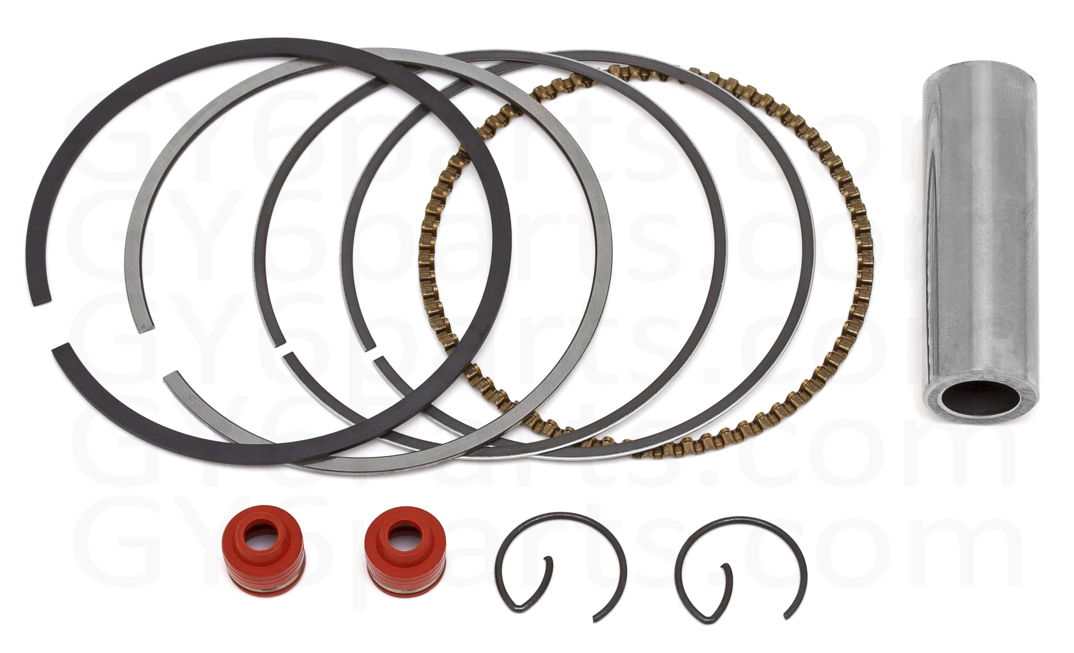 GY6 Big Bore Kit Rings